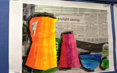 Term 3 Week 3 – Middle primary art work and poetry
